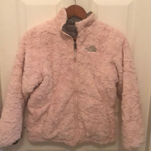 Girls 14/16 reversible north face